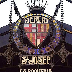 Entrance To La Boqueria
