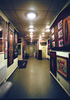 Exhibits On Wall Of Cinema Museum