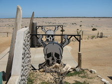 Entrance To Skeleton Coast National Park