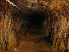 A Drift In The Great Copper Mountain Mine