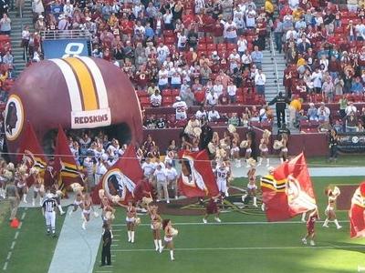 Redskins Game At FedEx Field