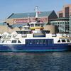 Ferry Running Between Halifax And Dartmouth