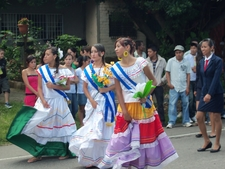 Fiestas Patrias Celebration In El Salvador