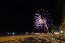 Fireworks On Patong Beach