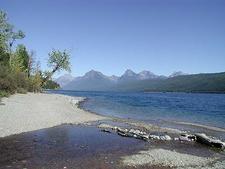 Fish Creek Campground - Glacier - Montana - USA