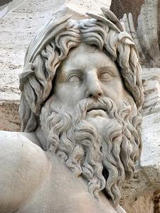 Fontaine De La Piazza Navona - Roma