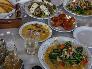 Santorini Food Tour with eBikes Photos