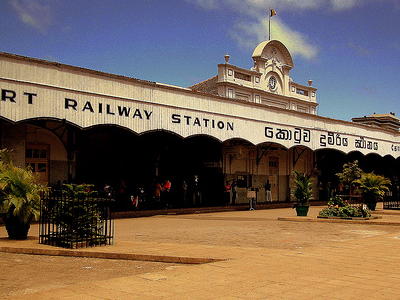 Fort Railway Station - Colombo