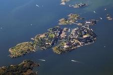Fortress Of Suomenlinna Aerial