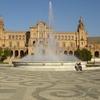 Fountain At Plaza De España - Seville Andalusia