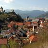Friesach With Petersberg Castle