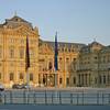 Front View Of Residenz Wuerzburg