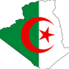 Flag And Map Of Algeria