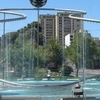 Whimsical Fountain In Neuquen