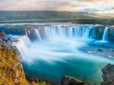 Godafoss Waterfall - North Iceland