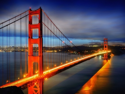 Golden Gate Bridge San Francisco United States Tourist