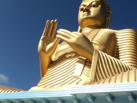 The Golden Temple of Dambulla