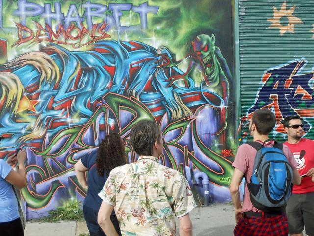 Graffiti & Street Art Walking Tour in Brooklyn Photos
