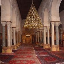 Great Mosque Of Kairouan Prayer Hall