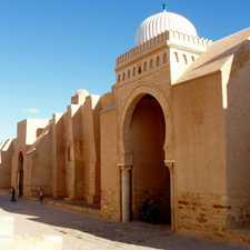 Great Mosque Of Kairouan Western Wall