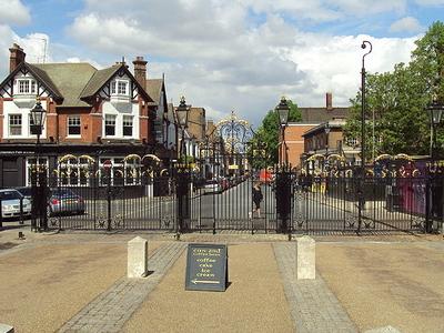 Greenwich Park Gates