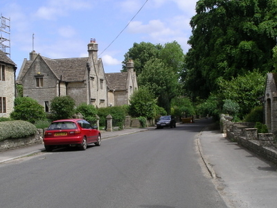 Grittleton Village Eastwards