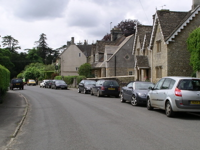 Grittleton Village Westwards