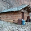 Grotto Camping Ground - North Comfort Station - Zion - Utah - US