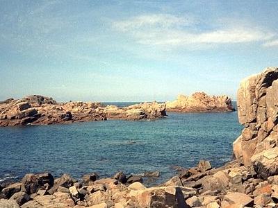 Guernsey Coastal Rocks