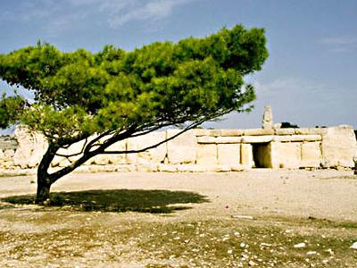 Hagar Qim Forecourt - Malta