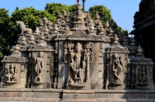 Hatheesing Jain Temple Carvings