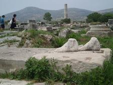 Heraion Antika Fötter