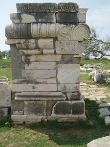 Heraion Samos Grekland