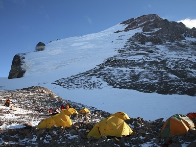 High Camp For Aconcagua