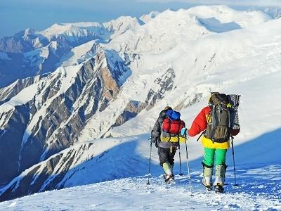 Hikers - Nepal Himalayas