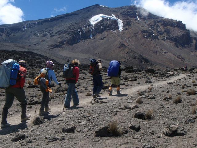 Mount Kilimanjaro Trekking Expedition Machame Route Photos