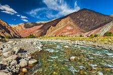 Himalayas Along India