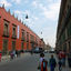 Historical Street In Mexico City