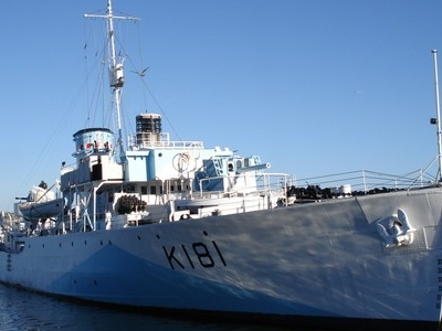 HMCS Sackville, Halifax Harbour