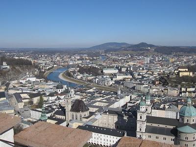 Hohensalzburg Castle Long View