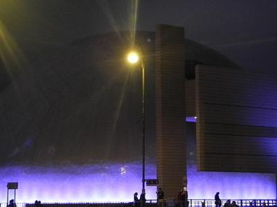 Hong Kong Space Museum - Night View