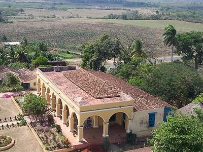 House At Manaca Iznaga Estate