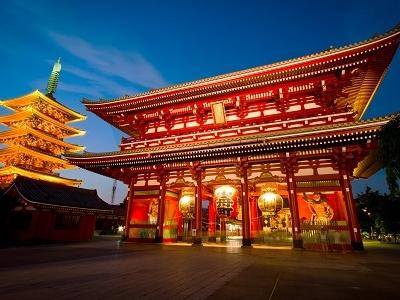 Hozomon Gate Of Asakusa Temple