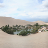 Huacachina And Surrounding Dunes