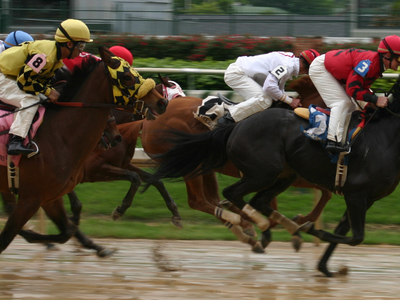 Thoroughbred Racing At Churchill Downs