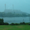 Huntly Power Plant In The Rain