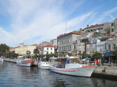 Ibenik Harbor And Town Center