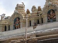 Bull Temple - Bangalore - Intricate Architecture