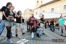 In Piata Mare - ARTmania - Sibiu City