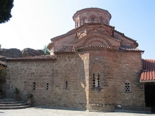 Inside Meteora Monastery - Trikala